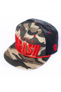 Turbo Trash Captain Trash Camo Snapback