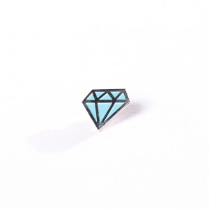 Turbo Trash Diamond Pin